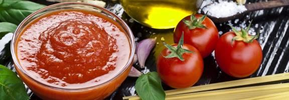 Sauce en poche tomate napolitaine pour la restauration professionnelle